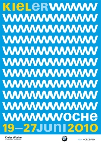 Plakat Kieler Woche 2010