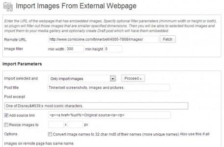 Bilderklau per Wordpress-PlugIn